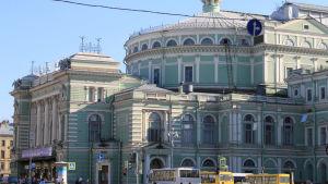 Mariinski-teatteri Pietarissa.