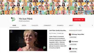 Uuden Päivän Youtube-kanava.