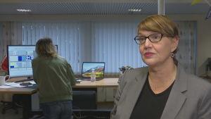 Marina Holmberg är chefredaktör för tidningen Västra Nyland