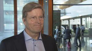 Tom Liljeström, chef för LokalTapiola Kapitalförvaltning
