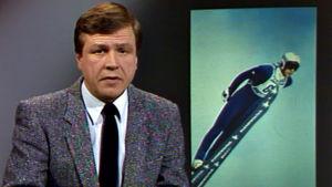 Arvi Lind kertoo Matti Nykäsen lentomäen MM-kullasta 1985.