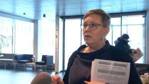 Kansliminister Nina Fellman poängterar de nya kommunernas potential.