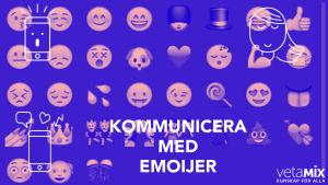 Bild med olika emojier.