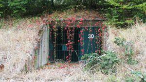 A bunker in Gut Harzwalde.