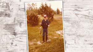 10-vuotiaan Jussi Halla-ahon kalansaalis on hauki