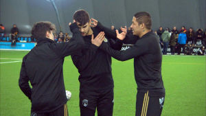 Maximo Tolonen, Sergei Eremenko och Moshtagh Yaghoubi slåss om speltid.