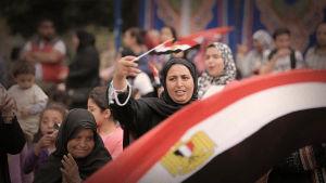 Egyptin presidentti Abdel Fattah al-Sisi hallitsee maata itsevaltiaan ottein.