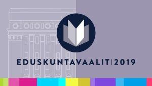 Ylen Eduskuntavaalit 2019 -ohjelmien logo