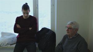 Mirnan veli Danilo ja isä sairaalassa.