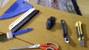 tapetserinsverktyg