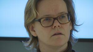 Chefsläkare Pia-Maria Sjöström på Malmska sjukhuset i Jakobstad