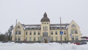 Malmska sjukhusets karaktärbyggnad i Jakobstad