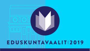 Eduskuntavaalit 2019 -logo