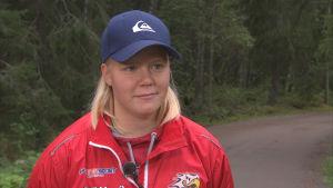 Vasa Sports forward Ida Kuoppala
