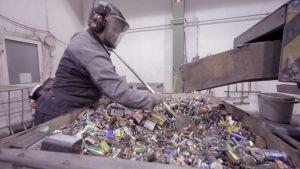 Akkuja kierrätetään