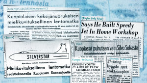 Silvo Sokka -uutisotsikoita 1948