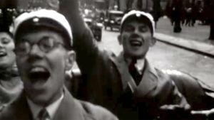 Vapunviettäjiä vuonna 1946.