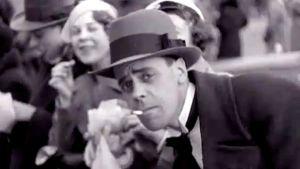 Vappua viettävä mies 1933.