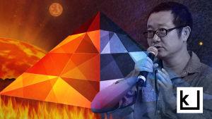 Cixin Liu on Kiinan merkittävin scifikirjailija.
