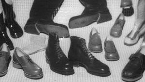 1950-luvun kenkiä