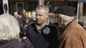 SFP-politikern Marcus Rantala.
