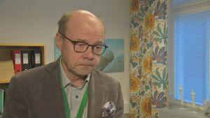 Chefläkare Olli-Pekka Lehtonen på Ålands centralsjukhus