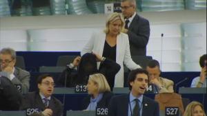 Marine Le Pen i EU-parlamentet