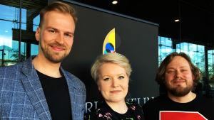 Mirjam Helin -laulukilpailun suomalaiset osanottajat 2019.