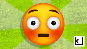Häpeä emoji