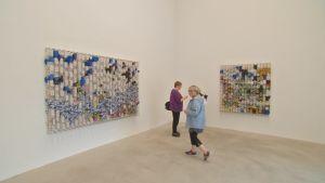 Mosaik-konstverk av Jacob Hashimoto.