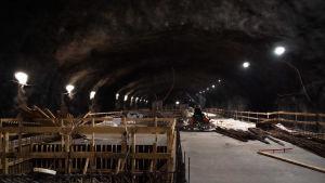 Finno metro station bygge
