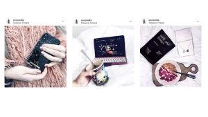 Skärmdumpar från Instagram.
