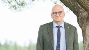 Sotkamo Silverin emoyhtiön toimitusjohtaja Timo Lindborg.