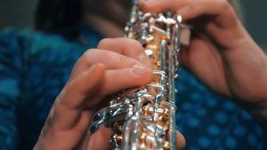 Lähikuva oboesta