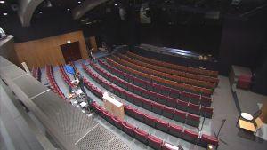 Wasa teater. salen från läktaren