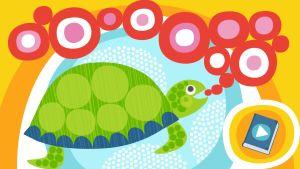 Pikku Kakkosen Satuaarteet: Puhelias kilpikonna