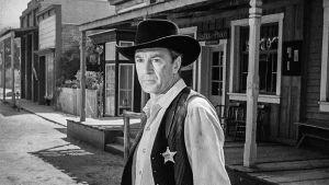 Gary Cooper elokuvassa Sheriffi (High Noon)
