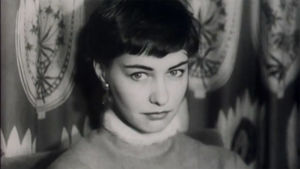 Audrey Hepburn -näköiskilpailussa toiseksi tullut Iris Högland (1955).