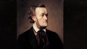 Cesar Willichin muotokuva säveltäjä Richard Wagnerista vuodelta 1862.