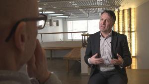 Stefan Wentjärvi intervjuad av Spotlights Kjell Lindroos