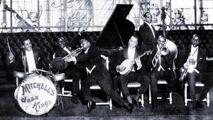 Louis Mitchell's Jazz Kings Pariisin Casinolla 1920-luvun alussa.