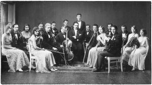 Viipurin Musiikkiopiston kamariorkesteri keväällä 1932.