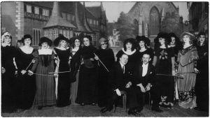 Gounod'n ooppera Faust Viipurin Musiikkiopiston esityksenä 1927.