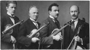 Viipurin Musiikkiopiston jousikvartetti 1920-luvun lopulla.