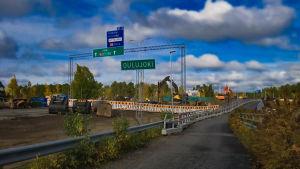 Oulujoen sillan remontointi 7.10.2019