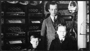 Kukkolan musiikkikauppa Viipurissa 1927-1930.