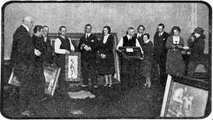 Karjala-lehden järjestämä yksityiskokoelmien näyttely Viipurin uudessa Taidemuseossa keväällä 1931.