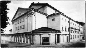 Viipurin 1832 rakennettu teatteritalo.