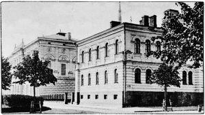 Viipurin Keskuskansakoulu 1900-luvun alussa.