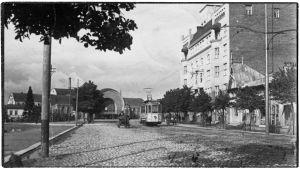Viipurin rautatieasema 1920.